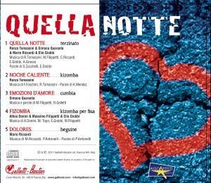 QUELLA NOTTE_retro CD