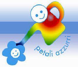 logo petali azzurri